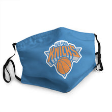 Load image into Gallery viewer, N.B.A New York Knicks Mask (PM 2.5)