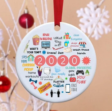 Load image into Gallery viewer, 2020 Annual Events Christmas Ornament Christmas tree pendant