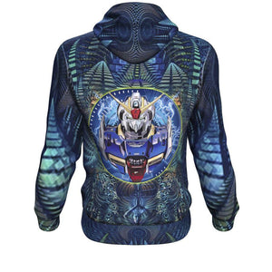 Abstract Gundam Hoodie