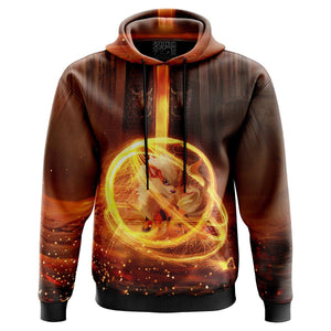 Awakened Growlithe Pokemon Hoodie