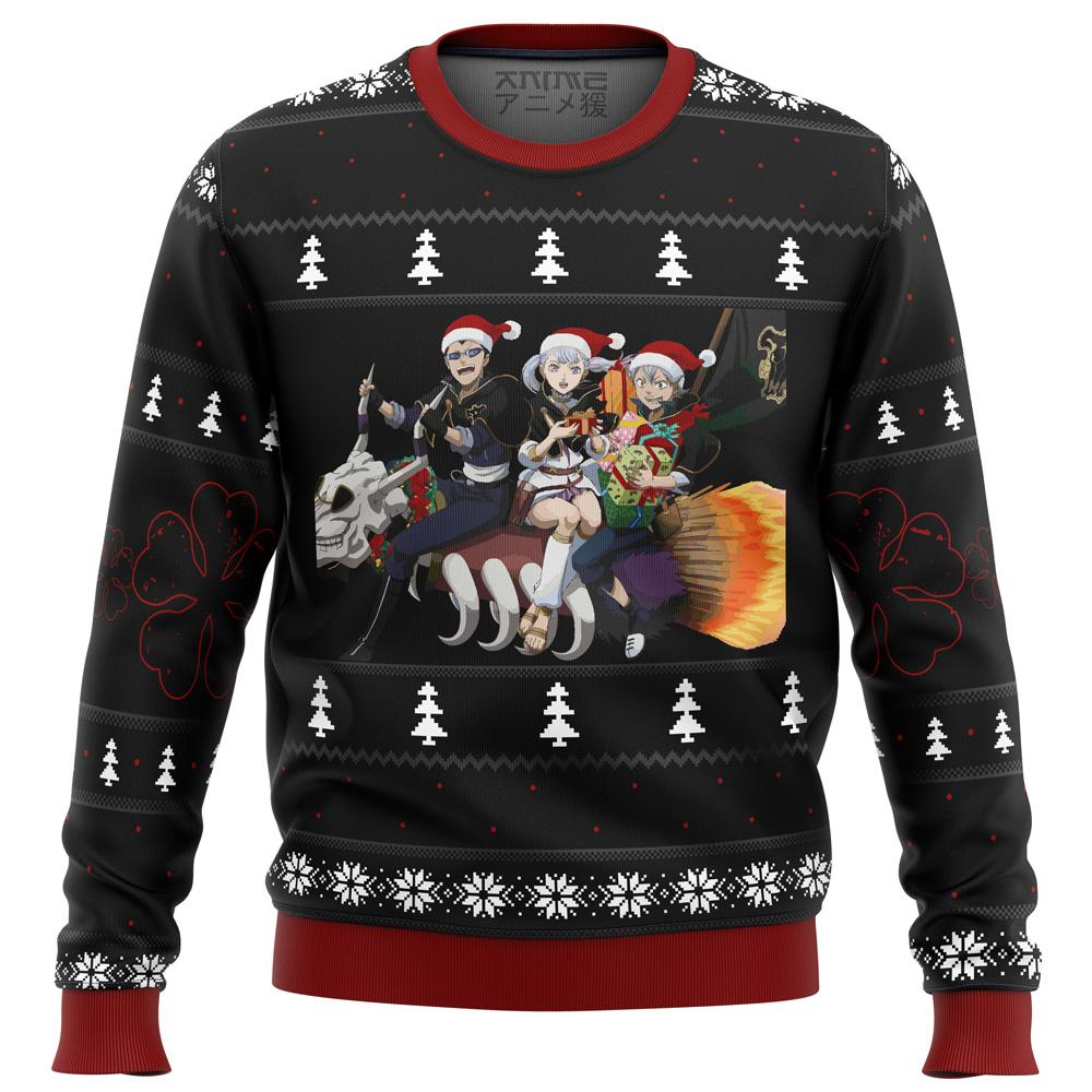 Black Clover Holiday Premium Ugly Christmas Sweater