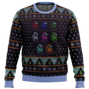 Crewmate Among Us Premium Ugly Christmas Sweater