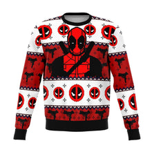 Load image into Gallery viewer, Deadpool Guy Premium Ugly Christmas Sweater