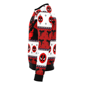 Deadpool Guy Premium Ugly Christmas Sweater