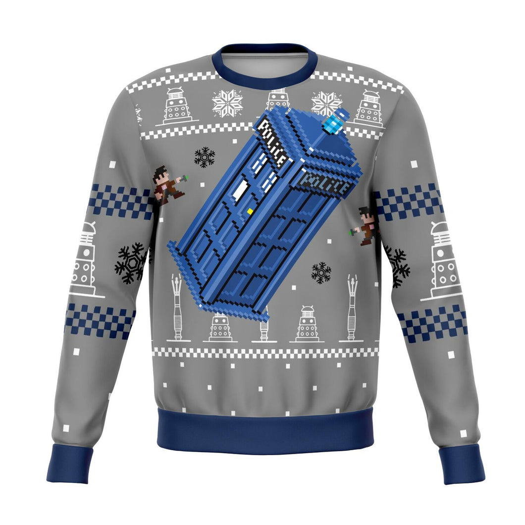 Doctor Who Premium Ugly Christmas Sweater