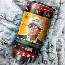 Load image into Gallery viewer, Donald Trump Chritmas Tumbler No.2