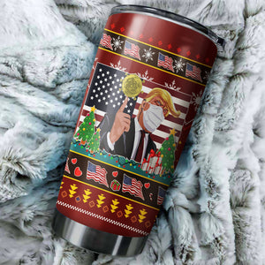 Donald Trump Chritmas Tumbler No.5