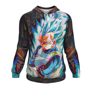 Dragon Ball Z Blazing Vegeta Hoodie