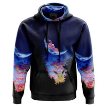 Load image into Gallery viewer, Eevee moon Pokemon Hoodie