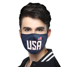 Load image into Gallery viewer, Make America Healthy Again Flag Mask (PM 2.5)