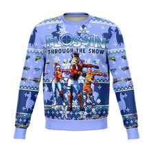 Load image into Gallery viewer, Fortnite Snow Floss Premium Ugly Christmas Sweater