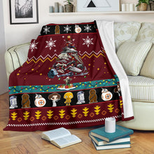Load image into Gallery viewer, Starwars Red Christmas Blanket