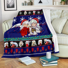 Load image into Gallery viewer, Inuyasha Christmas Blanket