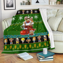 Load image into Gallery viewer, One Piece Christmas Blanket