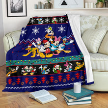 Load image into Gallery viewer, Mickey Christmas Blanket