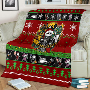 Nightmare Before Christmas  Christmas Blanket