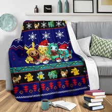 Load image into Gallery viewer, Gearzime Pokemon Christmas Blanket