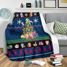 Load image into Gallery viewer, New Pokemon Christmas Blanket
