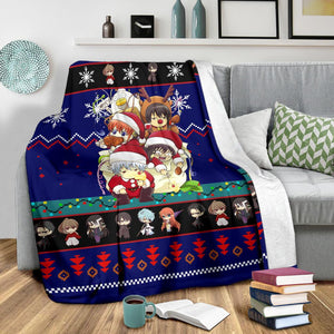 Gintama Christmas Blanket