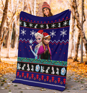 Frozen Christmas Blanket
