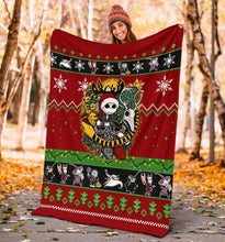 Load image into Gallery viewer, New Nightmare Before Christmas Blanket