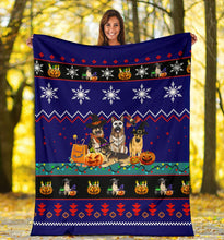 Load image into Gallery viewer, Halloween Dog Christmas Blanket