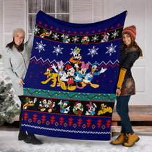 Load image into Gallery viewer, Mickey & Friends Christmas Blanket