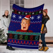 Load image into Gallery viewer, Home Alone Christmas Blanket
