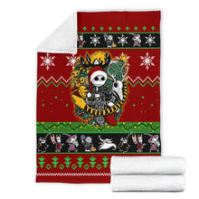 Load image into Gallery viewer, Nightmare Before Christmas  Christmas Blanket