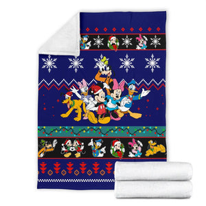 Mickey & Friends Christmas Blanket
