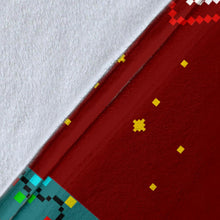 Load image into Gallery viewer, Snoopy Red Christmas Blanket