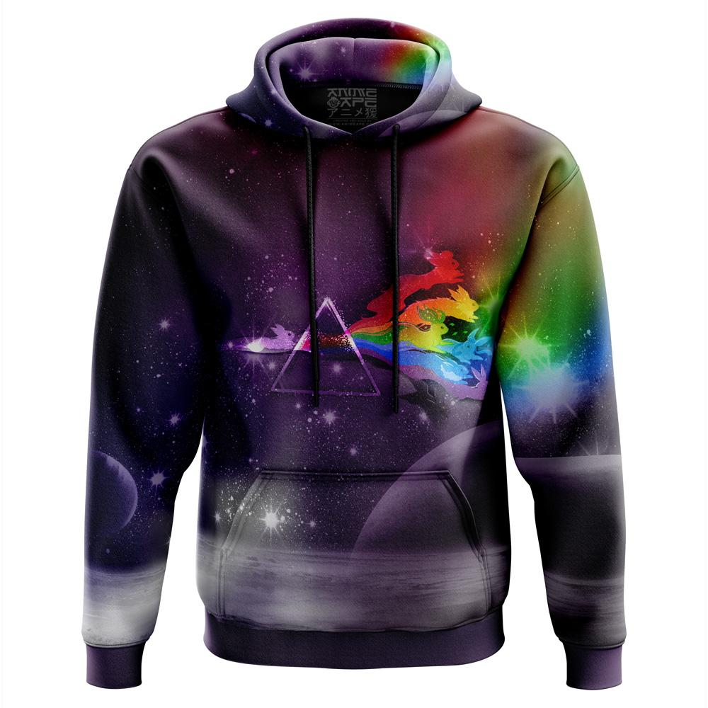 Galaxy Eveeelutions Pokemon Hoodie