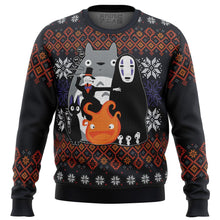Load image into Gallery viewer, Ghibli Miyazaki Premium Ugly Christmas Sweater
