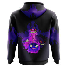 Load image into Gallery viewer, Ghoulish Gengar Pokemon Hoodie