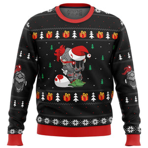 Goblin Slayer Santa Premium Ugly Christmas Sweater