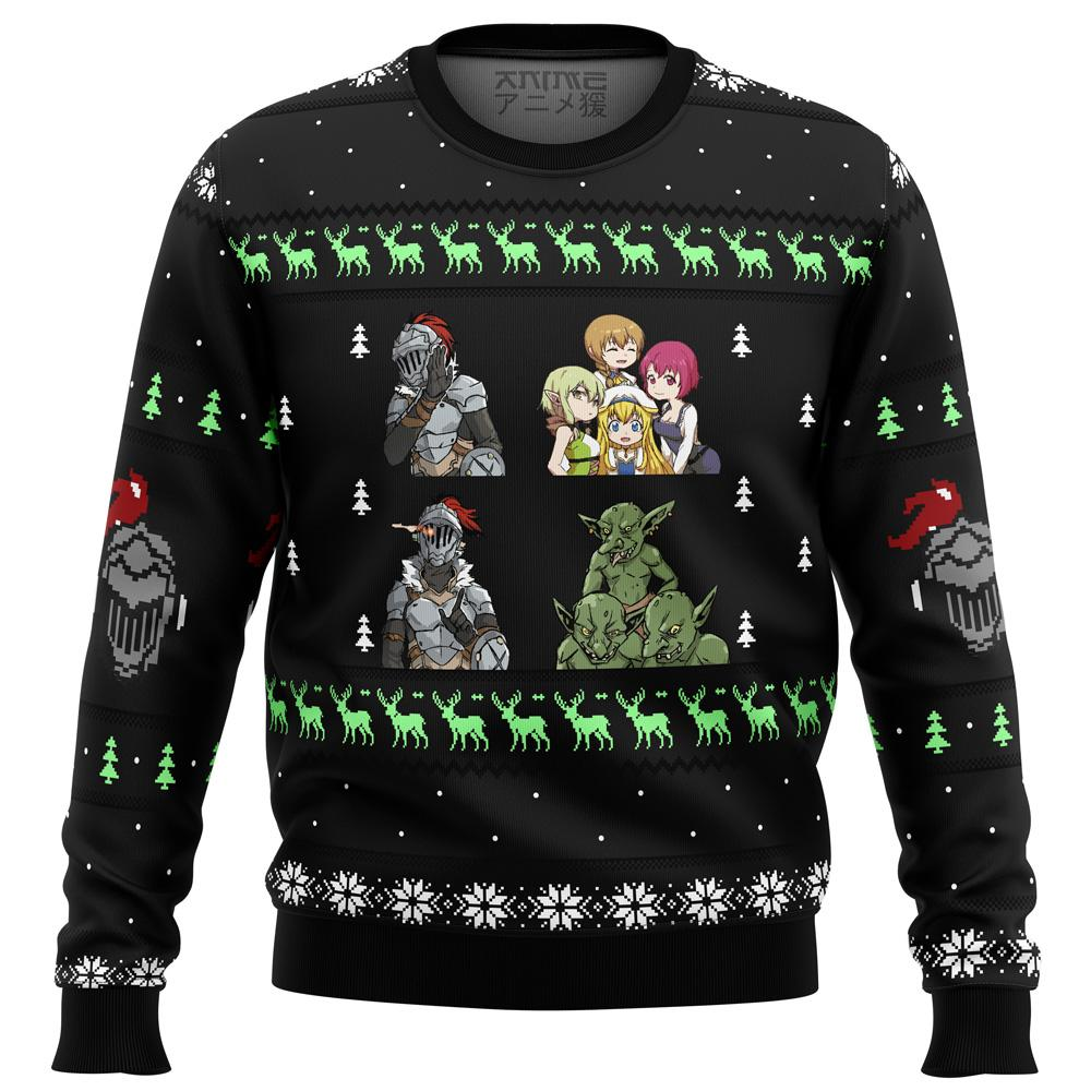 Goblin Slayer Sprites Premium Ugly Christmas Sweater