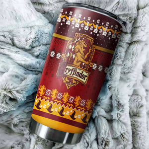 Harry potter christmas tumbler perfect gift Stainless Traveling Mugs