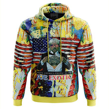 Load image into Gallery viewer, Joe Exotic Paint Tiger King Hoodie