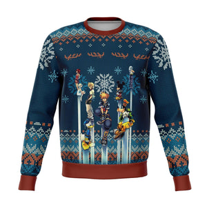 Kingdom Hearts Premium Ugly Christmas Sweater