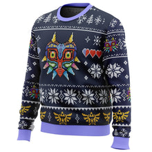 Load image into Gallery viewer, Majora's Mask Legend of Zelda Premium Ugly Christmas Sweater