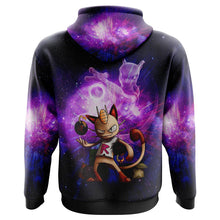 Load image into Gallery viewer, Mewth and Mewto Pokemon Hoodie