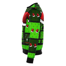 Load image into Gallery viewer, Minecraft Creeper Premium Ugly Christmas Sweater