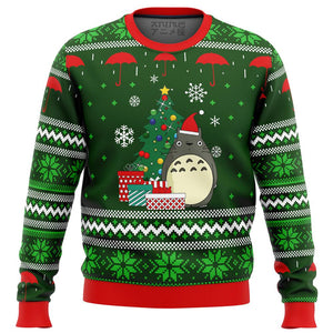 My Neighbor TOTORO GIFTS Premium Ugly Christmas Sweater