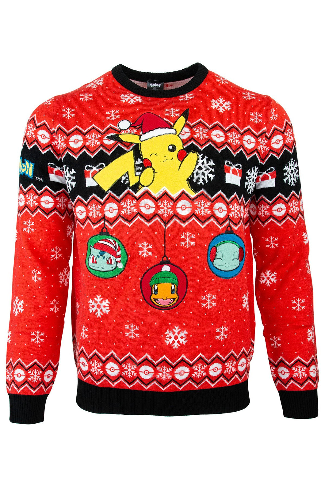 Pikachu Ugly Christmas Sweater