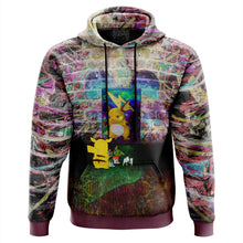 Load image into Gallery viewer, Pikachu Painting Pokemon Hoodie