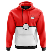 Load image into Gallery viewer, Pokemon Ball Hoodie