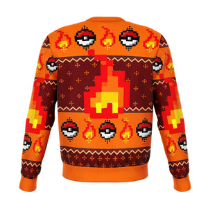 Pokemon Charmander Premium Ugly Christmas Sweater