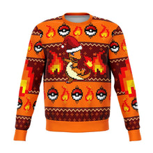 Load image into Gallery viewer, Pokemon Charmander Premium Ugly Christmas Sweater
