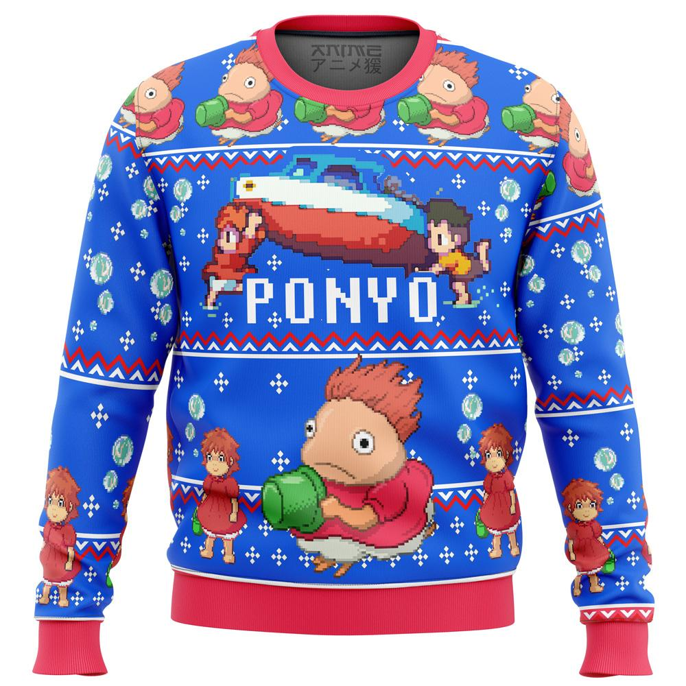 PONYO Premium Ugly Christmas Sweater