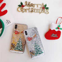 Load image into Gallery viewer, Adorable Christmas iPhone Case